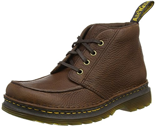 Dr. Martens Men Austin Ankle Boots, Brown (Dark Brown Grizzly), 9 UK...