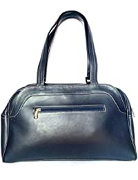 Star Exports Women's Cow Nappa Leather Bag Black