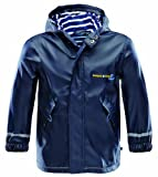 Marinepool Kinder Jacke Drifter Rainjacket Kids, Navy, 104/110, 1001144