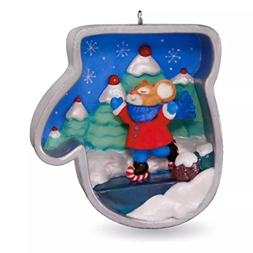 Hallmark 2016Weihnachtsschmuck Cookie Cutter Christmas Eislaufen Maus Ornament