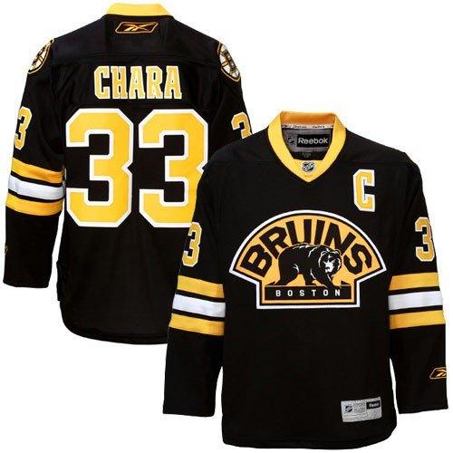 NHL Eishockey Trikot Boston Bruins Zdeno Chara #33 Alternate Jersey Premier (XL)