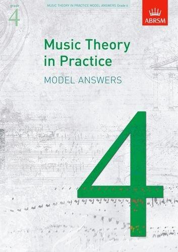 Abrsm Music Theory in Practice: Model Answers - Grade 4 Livre Sur la Musique