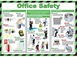 Office Safety Poster, Laminated, 59x42cm