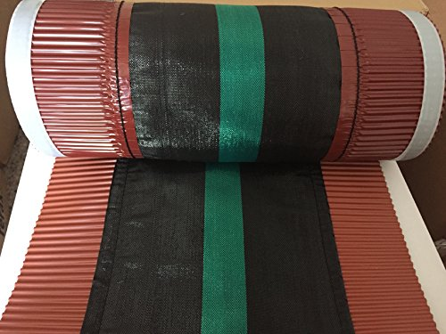 Rollfirst Firstband schwarz 39cmx5m für tiefe Dachsteine
