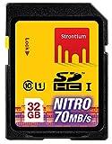 #9: Strontium 32 GB NITRO SDHC NITRO 466X Memory Card - Class-10