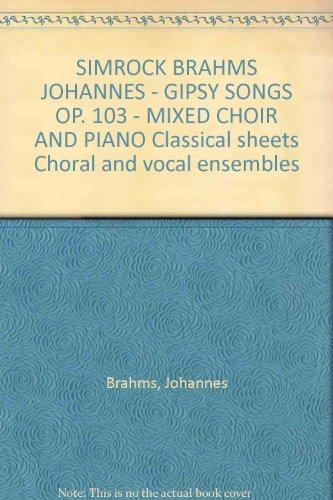 Zigeunerlieder Op.103
