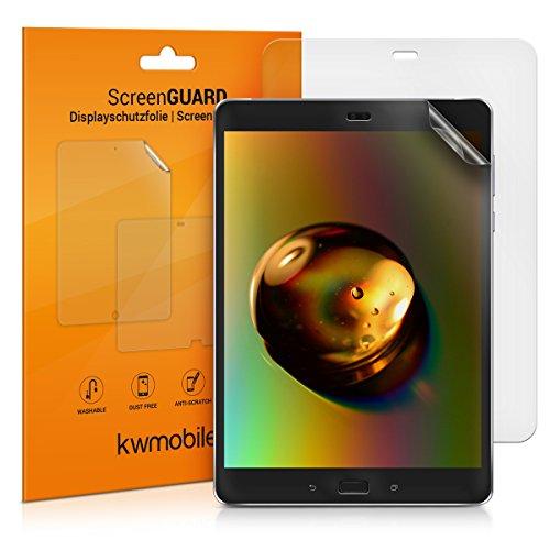 kwmobile 2X Asus ZenPad 3S 10 (Z500KL) Folie - Full Screen Tablet Schutzfolie für Asus ZenPad 3S 10 (Z500KL) entspiegelt