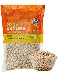 Pro Nature 100% Organic Kabuli Channa, 500g