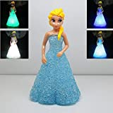 #3: Ruon Deals™ Princess Color Changing LED Lamp for kids, Party, Gifts, Table Decoration (1 Pc, Random Color)