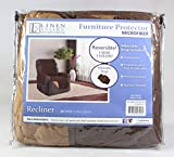 Linen Store Quilted Reversible Microfiber Pet Dog Couch Furniture Protector Recliner Cover