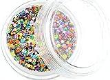 1 de digitación Dots chuchería/disfraz discotequero, redondo, diámetro 1 mm~~de creación de punto de Multicolour~~