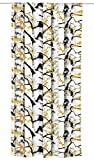 Vallila Koivukuja, Birke, Baum Muster, Vorhang 140x240 cm, Ocra, Baumwoll-Mischgewebe, beige, 240 x 140 cm