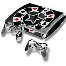 Virano - Pegatina para PlayStation 3 Slim, diseño de coches de colección varios modelos disponibles Casino 10010 PS3 Slim Full Body Skin