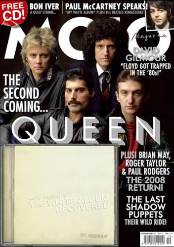 Mojo Magazine-Issue 179 Queen,David gilmour,Last Shadow Puppets,Beatles,Fugs