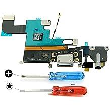 Connettore Dock di ricambio per Iphone 6 Nero con caricamento