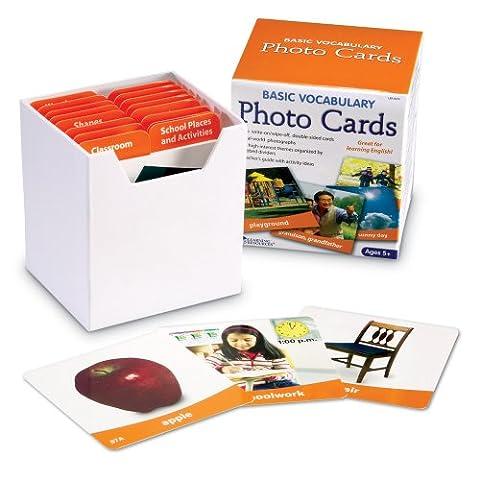 Learning Resources Fotokarten mit englischem Grundwortschatz,
