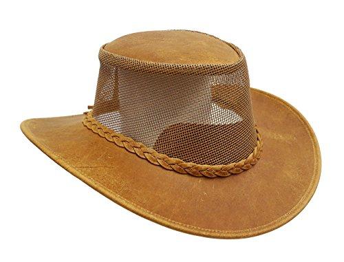 Kakadu Traders Australia - Sombrero Cowboy - para Hombre Herrumbre X-Large 89912a30879