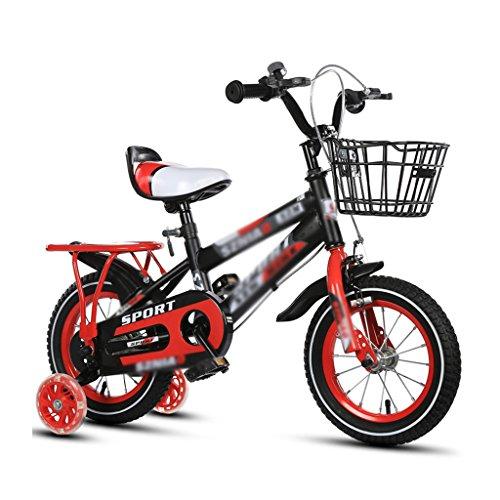 Preisvergleich Produktbild Kinderfahrräder 2-3-4-6-7-8 Jahre alt Baby 12-14-16-18 Zoll Kinderwagen 3C Zertifizierung Kind Auto ( Color : Red , Size : 18 inches )