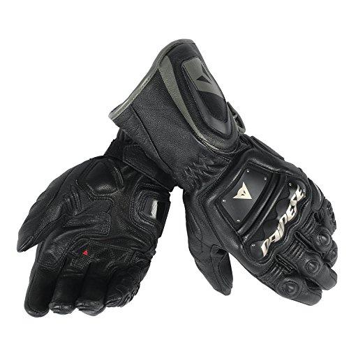 Dainese-4 STROKE LONG Handschuhe, Schwarz/Schwarz/Schwarz, Größe XXL