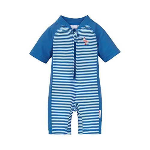 Bornino Baby Schwimmanzug Swimwear/Badekleidung Kinder/Badeanzug maritim mit UV-Schutz