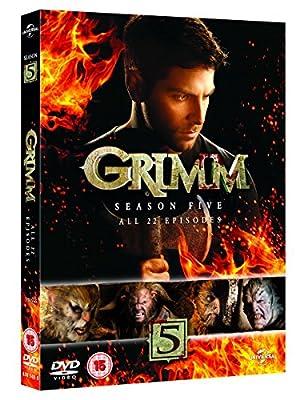 Grimm - Season 5 [DVD] [2015]