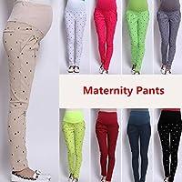 mark8shop abjustable Schwangere Frauen Bauch Umstandsmode Hose Bauch Leggings Hose