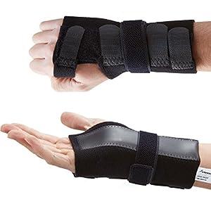 Actesso DELUXE Handgelenkschiene – Schmerzlinderung zur Karpaltunnel, Verstauchungen, Sehnenscheidenentzündung und Arthritis