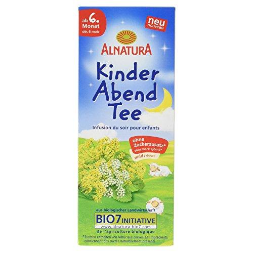 Alnatura Bio Kinder Abend Tee ab dem 6. Monat, 20 Beutel, 30 g -