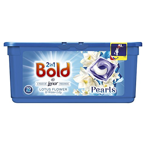 Price comparison product image Bold 2in1 Washing Tablets Lotus & Water Lily 87 Washes (3 x 29 pack)