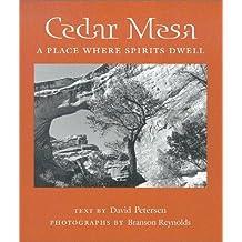 Cedar Mesa: A Place Where Spirits Dwell (Desert Places) by David Petersen (2002-10-01)