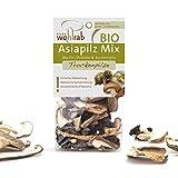 Bio Asia Pilz-Mischung asiatische Pilze Mix getrocknet (Shiitake, Austernpilz, Mu Err - Chinesische Morchel) 30 g