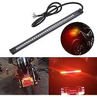 KaTur Harley Davidson - Tira de luz LED para Freno Trasero de Motocicleta, luz LED Flexible de 32 a 3528 de 8 Pulgadas