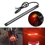 KaTur Motorrad-, Harley Davidson-LED-Lichtleiste, Rücklicht, Bremslicht, Blinker, 32–3528, LED, 20,3 cm, Kennzeichenbeleuchtung, flexible LED-Leuchte