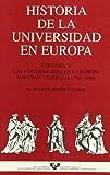 Historia de la Universidad en Europa. Vol. 2. Las universidades en la Europa Moderna temprana (1500-1800)