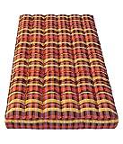 #7: IRA Multicolor Medium Soft cotton Mattress (4 Inch)