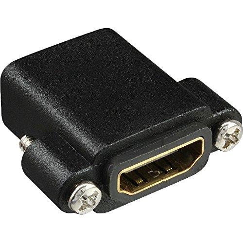 InLine 17600N adaptador de cable HDMI A Negro - Adaptador para cable (HDMI A, HDMI A, Hembra/Hembra, Negro)