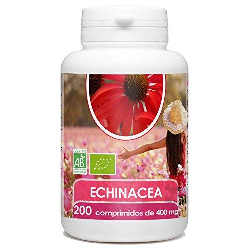 Echinacea Orgánica - Echinacea purpurea - 400mg -200