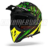 Helm Airoh Aviator 2.2  Threat Green Matt tg. M