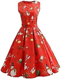 Amazon.it  Vestiti Per Natale - Vestiti   Donna  Abbigliamento 6f48f873b2c