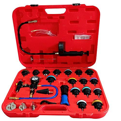 Xian 27 STK. Universal Heizkörper Druckprüfgerät mit 3 Vakuum bereinigen & Refill Kit