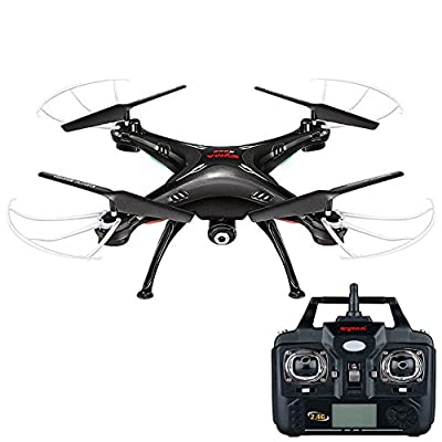 BigFox Syma X5SW FPV Explorers 2.4Ghz 4CH 6-Axis Gyro RC Headless Quadcopter Drone with 0.3MP Camera Wifi Camera