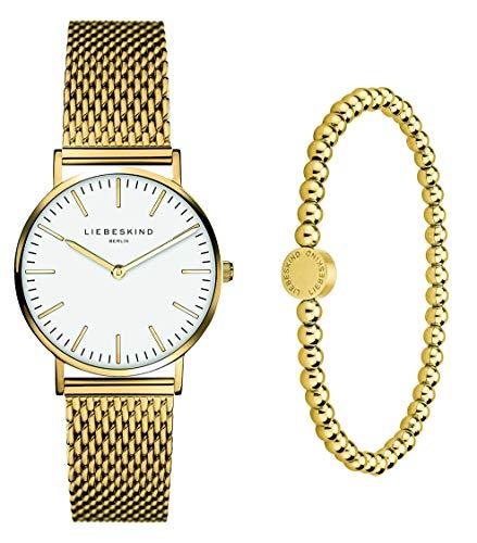 Liebeskind Berlin Set Armbanduhr und Armband LS-0085-MQB