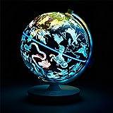 GH DQY- Voz de los niños Interactivo 3D AR Globe HD Estudiantes Horóscopo Lámpara Artículos de decoración Luz Nocturna