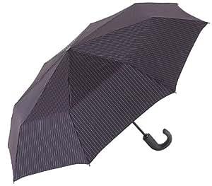 Fulton Chelsea Umbrella City Stripe Black
