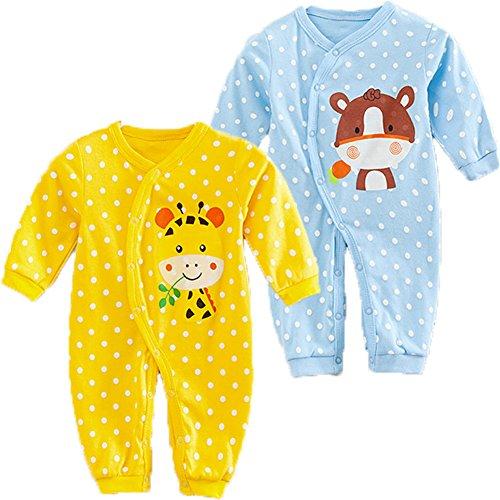 monvecle-2-pack-uni-sex-baby-long-sleeved-onesie-cotton-warm-bodysuit-12m