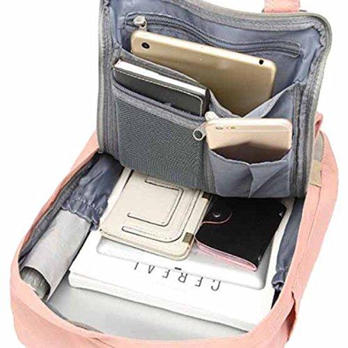 Canvas Schultasche Damen Reise Computer M Tasche J Rucksack 4UOOqg