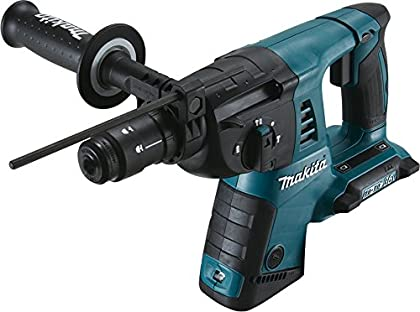 Makita DHR264ZJ 5000ppm Ión de litio 4700g martillo perforador inalámbrico - Martillo rotatorio (Ión de litio, 18 V, 4,7 kg, 116 mm, 374 mm, 232 mm)