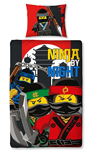 The Lego Ninjago Movie 'Urban' Single Panel Duvet Cover Bed Set