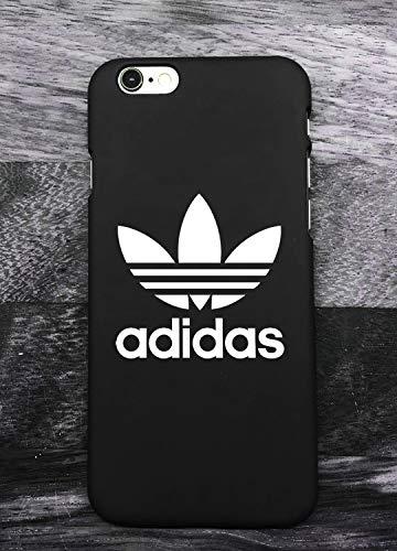 RIRE Coque iPhone 5/5S Adi Logo, Coque de Protection avec Absorption de Choc et Anti-Scratch Non Slip Housse Etui pour iPhone 5/5S - Noir