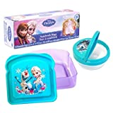 Disney Frozen Lunch Kit Bundle Of 3 Sand...